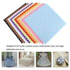 10Pc Handcraft Non-woven Fabric Craft Square Sheet DIY Quilting &Sewing Material