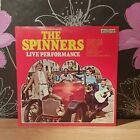 Vinyl Record LP Album THE SPINNERS LIVE PERFORMANCE (33)