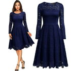 MIUSOL Women Long Sleeve Lace Dress for Homecoming and Semi Formal Event