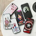 Varnish Matte Case for iPhone XR XS Max X Rubber Back Cover iPhone 6 6s 7 8 Plus