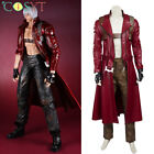 Devil May Cry 3 Dante Cosplay Costume Leather Halloween Outfit