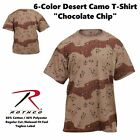 T-Shirt Military 6 Color Desert Camo Quality 6767 Rothco