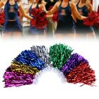 6pcs PET Cheerleader Pom Poms Squad Cheer Sports Party Dance Useful Accessories