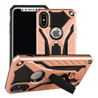 Pink Phone Case Hybrid Rugged Kickstand Armor Cover For iPhone 678 Plus XR XSMAX