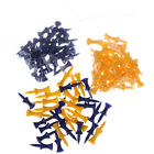 50x Plastic Golf Tees Step Down Count Graduated Fast Ship Sport Goods ~ JF