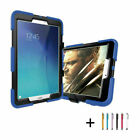 with Screen Protector Case Cover For Samsung Tab 3 4 A E S2 7.0 8.0 9.6 9.7 10.1