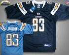 NFL Vtg San Diego Chargers #83 Vincent Jackson Football Jersey Youth Sz S-XL NWT on eBay