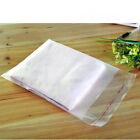 Clear Matte Plastic Self Adhesive Bags for Travel Towel Underwear Gift Storage