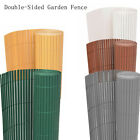 Double-Sided Garden Fence Border Panel Protective Fencing Home Decor