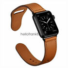 40/44mm Genuine Leather Apple Watch Band Strap for iWatch Series 5 4 3 2 38/42mmWristwatch Bands - 98624