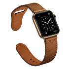 40 44mm Genuine Leather Apple Watch Band Strap For Iwatch Series 5 4 3 2 38 42mm