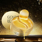 60pcs Gold Eye Patch Mask Collagen Anti-Wrinkle Eye Bags Dark Circles Puffiness