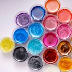 4Pc Mixed Color Resin Glowing Powder Luminous Pigment Set Crystal Epoxy Material