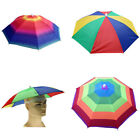Outdoor Sun Umbrella Hat Golf Fishing Camping Headwear Cap Head Hat Better