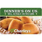 O'Charley's Gift Card - $25 $50 or $100 - Email delivery