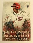 2018 Topps Legends In The Making Victor Robles RC Nationals #22