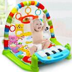 3 in1 Baby Gym Floor Play Mat Blanket Pedal Piano Musical Kick Fitness Play Toy