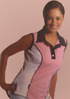 Super soft ladies sleeveless polo shirt | suitable for walking, equestrian, golf