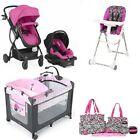 Best Baby Travel System Sets Stroller Car Seat Playard High Chair Diaper Bag Set