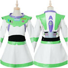 Toy Story Buzz Lightyear Cosplay Costume Female Version Halloween Outfit Dress
