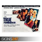 TRUE ROMANCE (ZZ065)  MOVIE POSTER Quentin Tarantino Poster Print Art A0 to A4