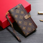 Luxury Leather Wallet Case Cover For iPhone 6 7 8 11 X XS Max XR & Samsung Phone