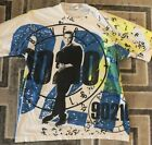 90210 Beverly Hills 90210 Vintage Official Shirt LUKE PERRY sz L