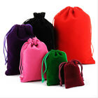 Velvet Drawstring Gift Bags Wedding Jewellery Candy Party Pouch Bags 10 Colours