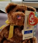 TY Beanie Baby - Champion the FIFA Bear USA Original Owner of This Bear ( FLAWS)