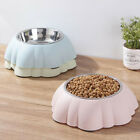 Stainless Steel Non Slip Dog Puppy Pet Animal Feeding Food Water Bowl Dish ONE