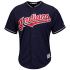 Cleveland Indians Majestic MLB AC Cool Base Replica Jersey - Navy on Ebay