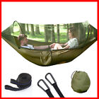 115*55in Double Hammock with Mosquito/Bug Net 1/2 Person Camping Travel Backyard
