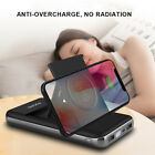 20000mAh Qi Wireless Charger Stand Power Bank 2USB LCD Battery For Mobile Phone