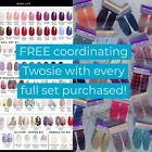 Color Street Stock Styles-FREE TWOSIE w/each set-FAST FREE Shipping!