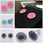 Kyпить HOT SALE MARC BY MARC JACOBS 5 COLORS CLASSIC LETTERS DISC EARRINGS #E001X на еВаy.соm