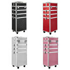 Vanity Makeup Beauty Cosmetic 4 In 1 Case Trolley Box Hairdressing Nail Storage