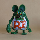 4'' Rat Fink Ed Roth Loose Toy Joint Hand Big Daddy Gift Action Figure 3 Color