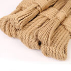 Natural Linen Hemp Cord Twisted Burlap Jute Twine Rope String Craft Decor 10m US