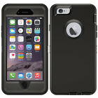 For iPhone 5 5S SE 6 6S 7 8 Plus Defender Case Hybrid Cover | Clip Fit Otterbox <br/> Built-in Screen Protector Film ✅ 360 Stand Holster ✅