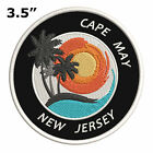 "Cape May New Jersey 3.5"" Embroidered Iron or Sew-on Patch"