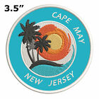 """Cape May New Jersey 3.5"""" Embroidered Iron or Sew-on Patch"""