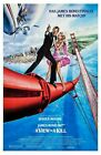 A VIEW TO A KILL Movie Art Silk Poster 12x18 24x36 $5.59 CAD on eBay