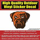 Cleveland Browns Football Vinyl Car Bumper Window Sticker Decal $4.00 USD on eBay