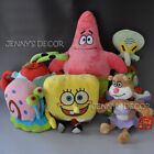Spongebob Plush Toys Patrick Star Squidward Tentacles Sandy Gary Krabs Soft Doll