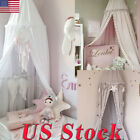 Bed Canopy with Balls Beads For Kids Dome Castle Play Tent Hanging Mosquito Net image