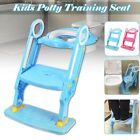 198 lbs Child Toddler Toilet Chair Kids Potty Training w/ Step Stool Ladder image