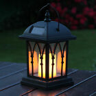 Solar Power Outdoor Garden Flickering LED Candle Lantern Light | Vx
