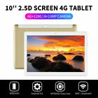 """10.1"""" WIFI/4G-LTE HD PC Tablet Android 9.0 bluetooth 6+128G SIM GPS Dual Camera"""
