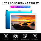 "10.1"" WIFI/4G-LTE HD PC Tablet Android 9.0 bluetooth 6+128G SIM GPS Dual Camera"