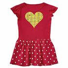 Inktastic Heart Chemical Elements Toddler Dress Chemistry Love Periodic Table